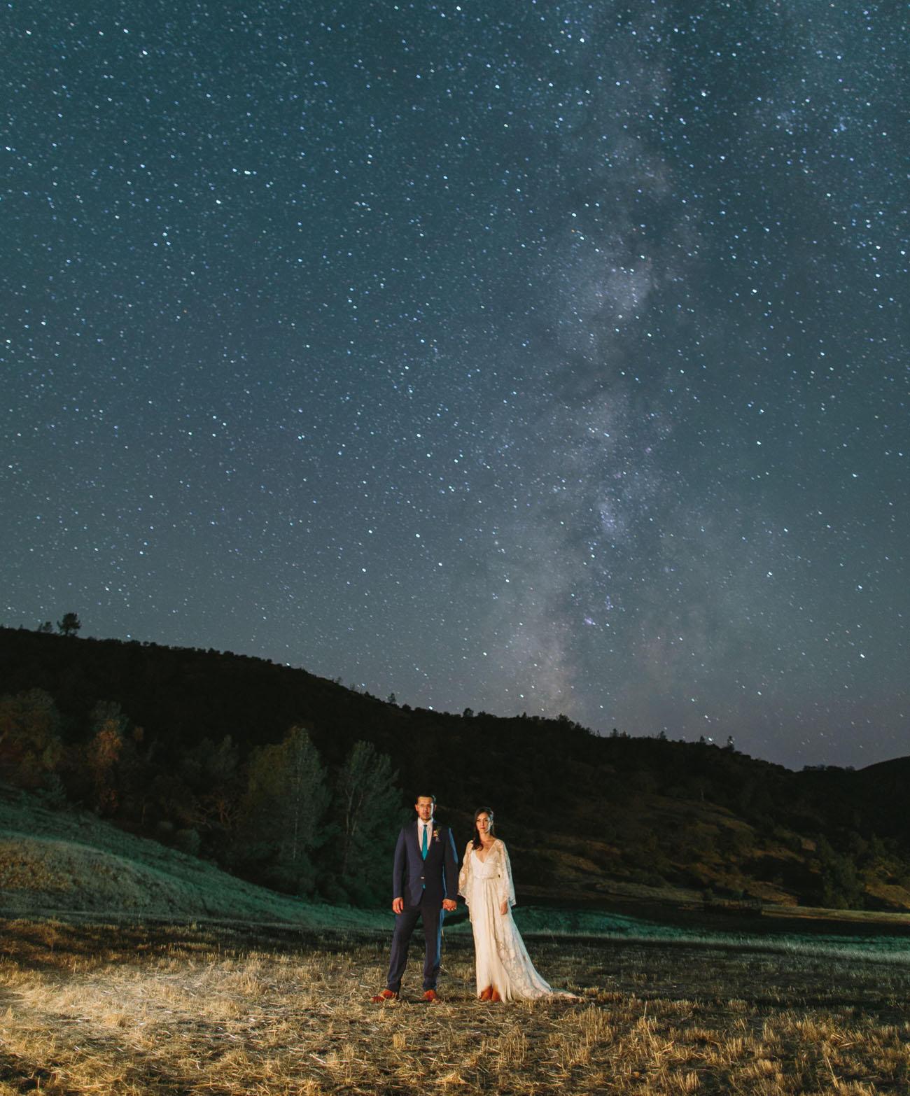 celestial wedding ideas under the stars