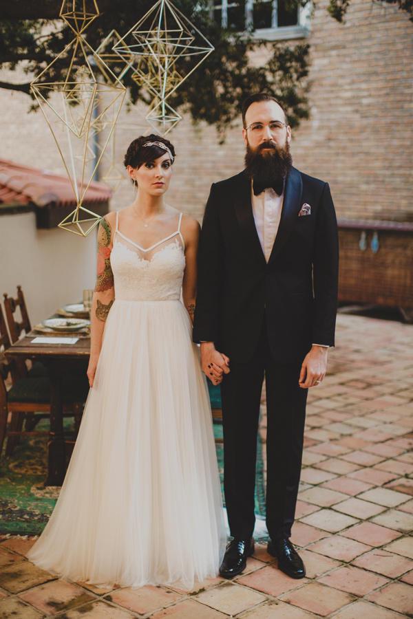celestial wedding ideas bride and groom