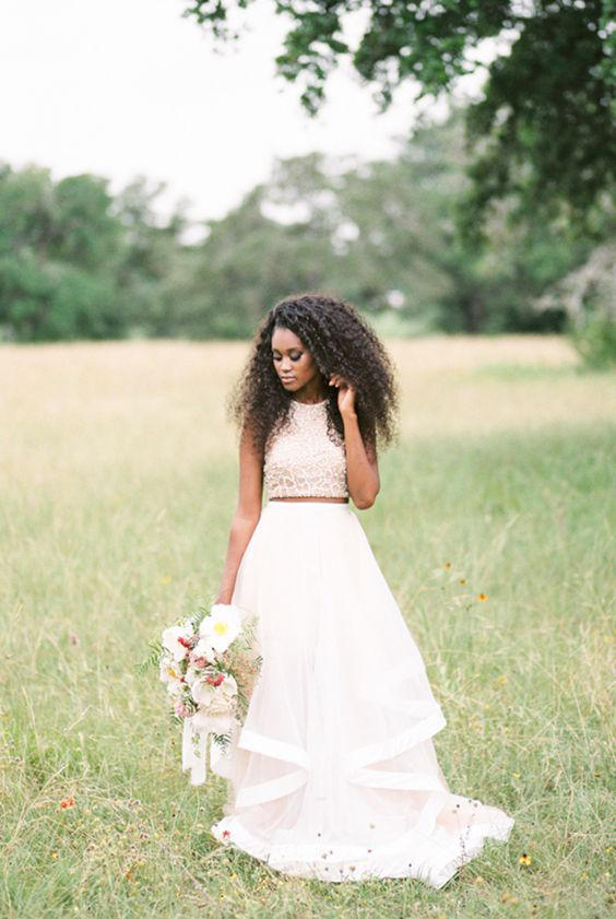 Bridal Separates Elegant Ivory