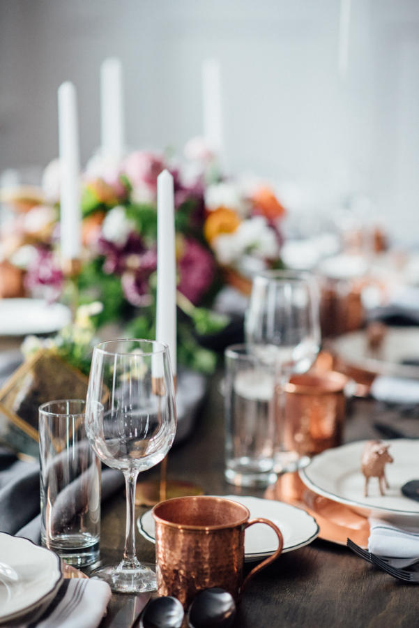 wedding trends copper