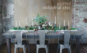 world of weddings industrial chic