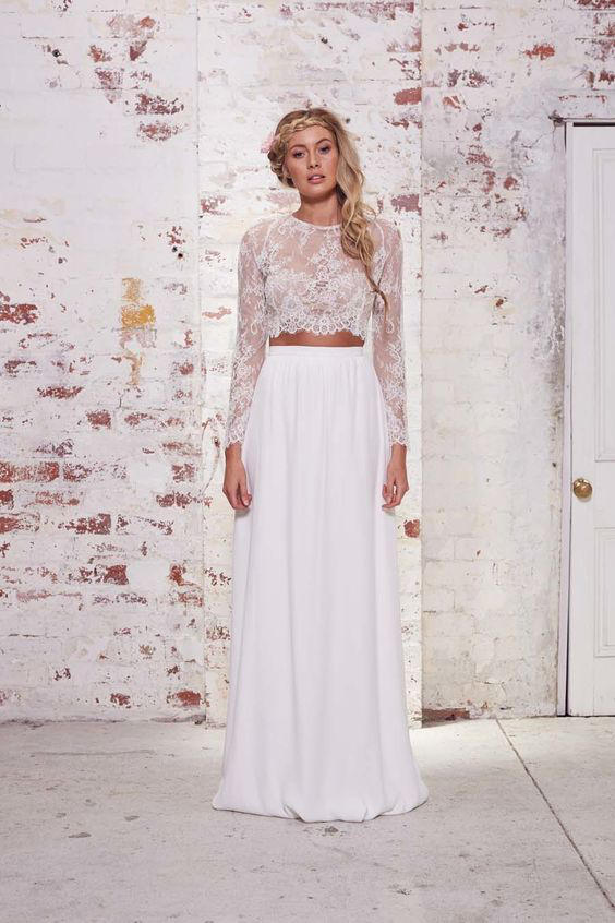 Bridal Separates understated style