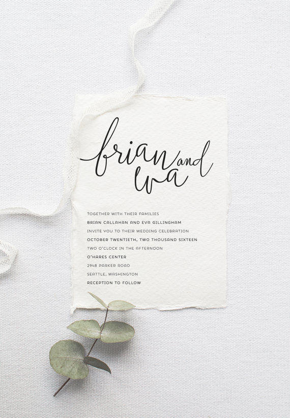 minimalist wedding white stationery styling