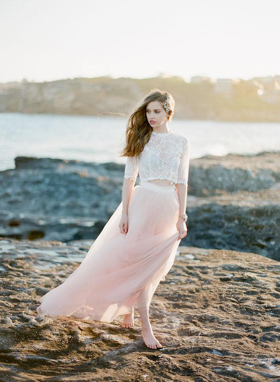 How to Rock the Bridal Separates Trends