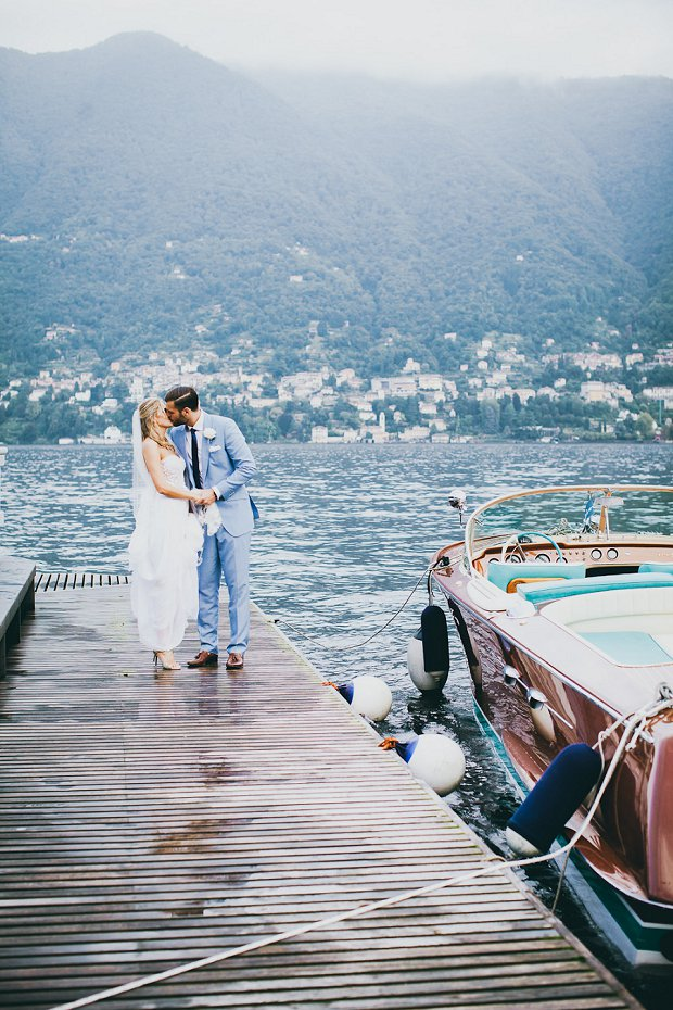 Destination wedding Europe lake venue