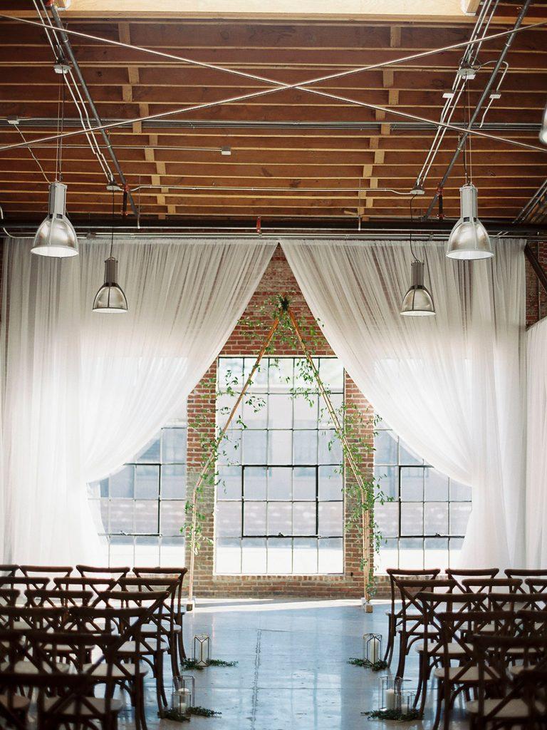 Statement wedding, curtain, backdrop