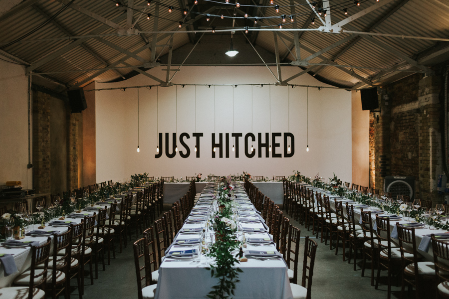 Shoreditch wedding studio