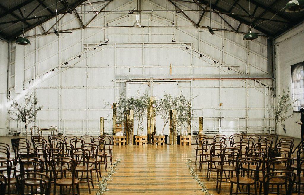 Statement wedding, backdrop