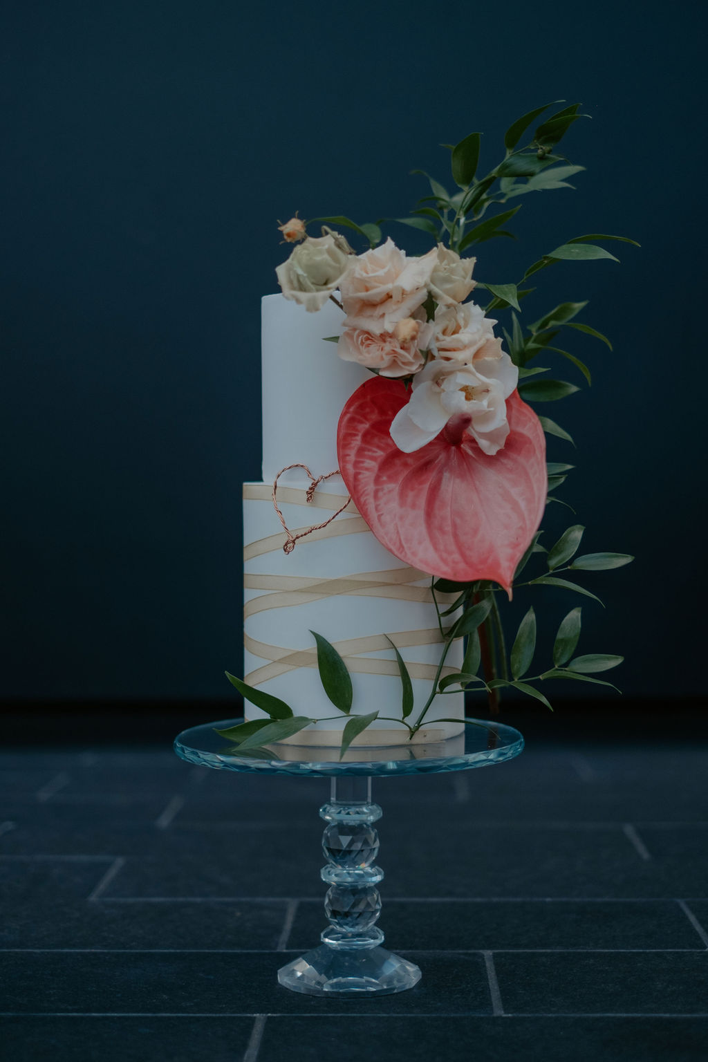 Beautiful Cake from Silver leaf cake company